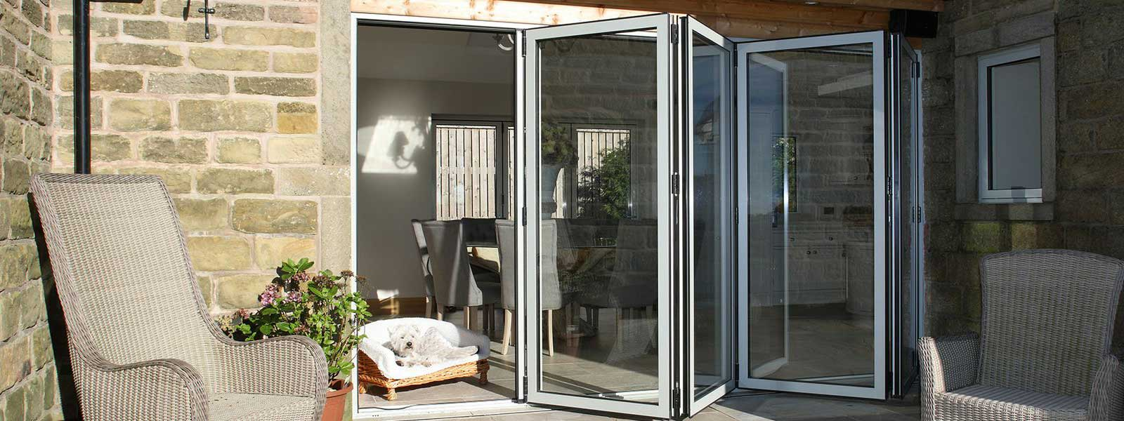 CF68 Aluminium Sliding Folding Door Cf68