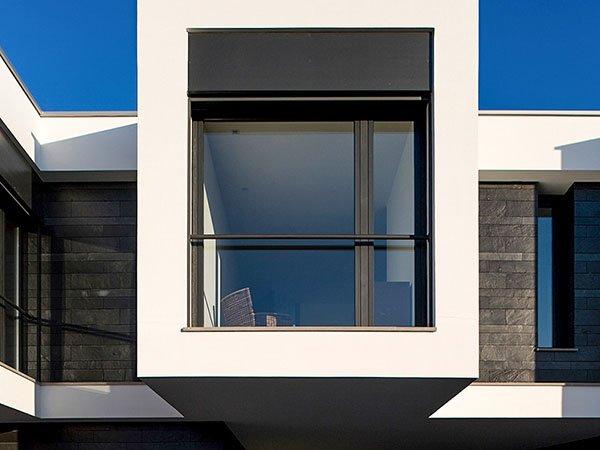 CS68 aluminium windows