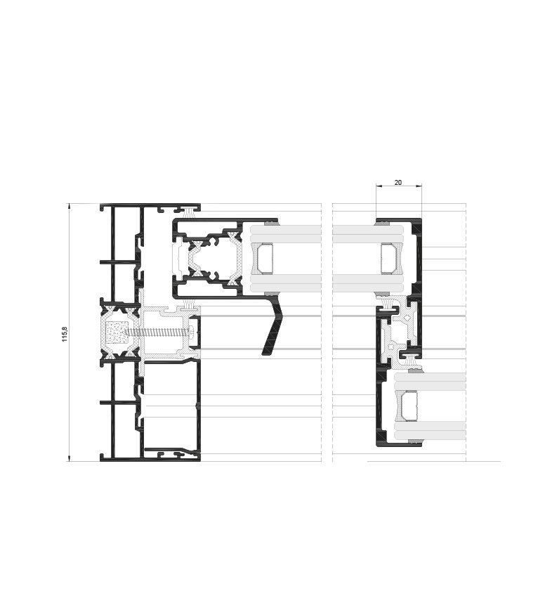 HiVision20 Technical Drawing