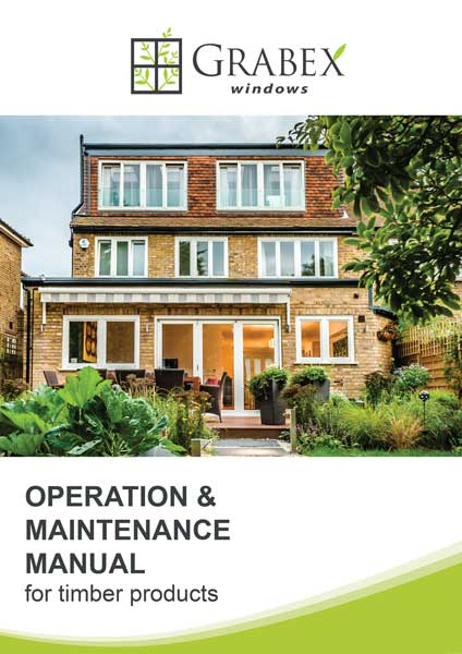 Homeowners Manual: Timber Windows & Doors
