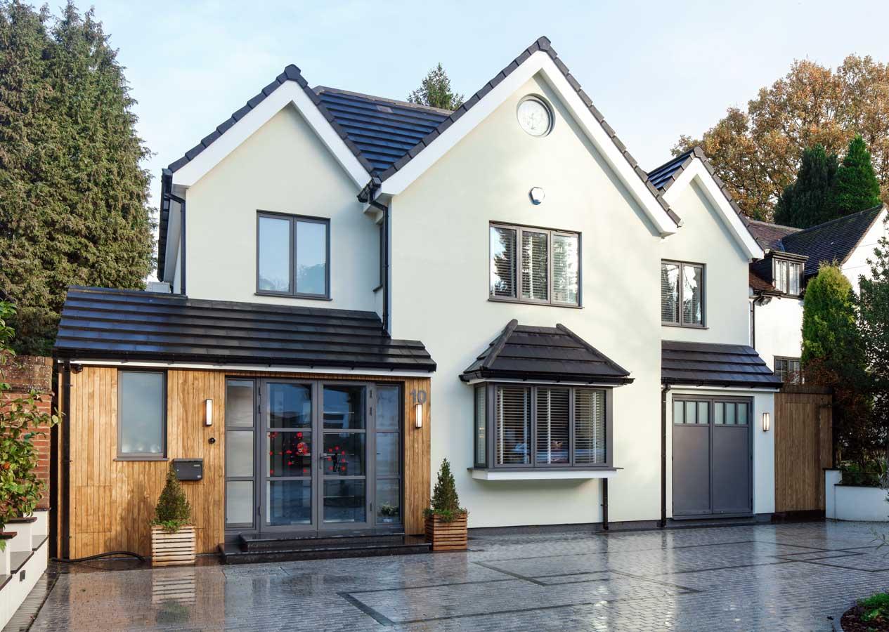 House With SL68 Aluminium Windows