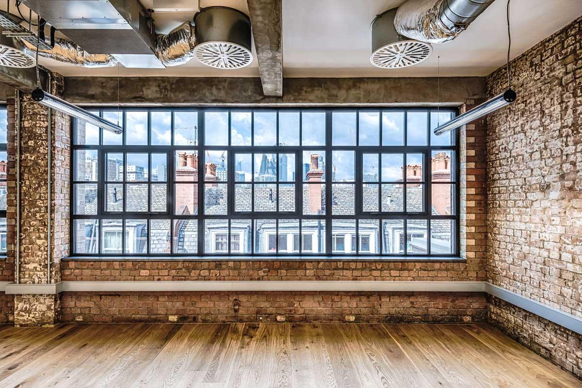 SL38 Aluminium Window System Reynaers Empire House Whitechapel Grabex Windows
