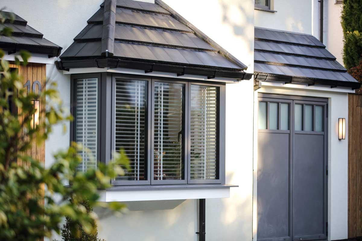 SL68 Aluminium Bay Window