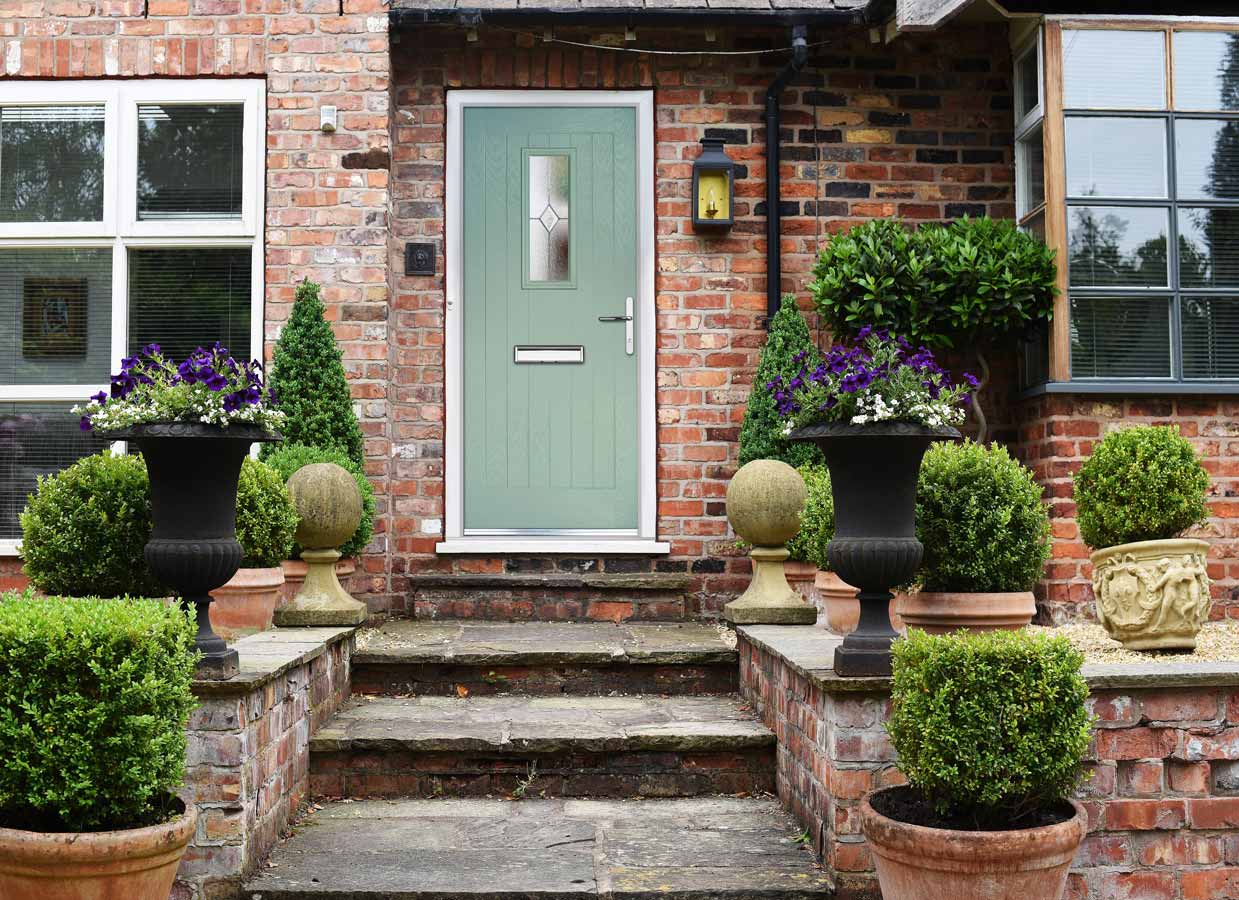 Composite Front Doors from Grabex Windows