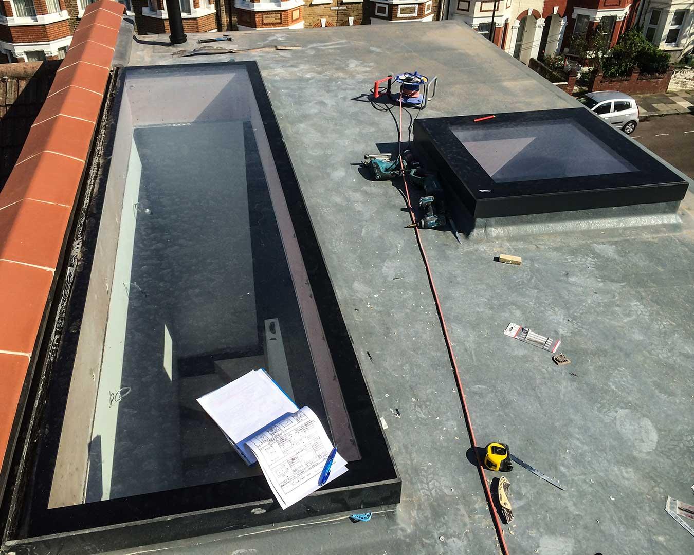 Slimsky Flat Rooflights from Grabex Windows