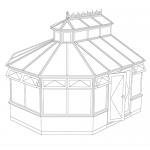 lantern style conservatory