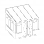 lean-to conservatory style