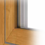 Fully flush sash
