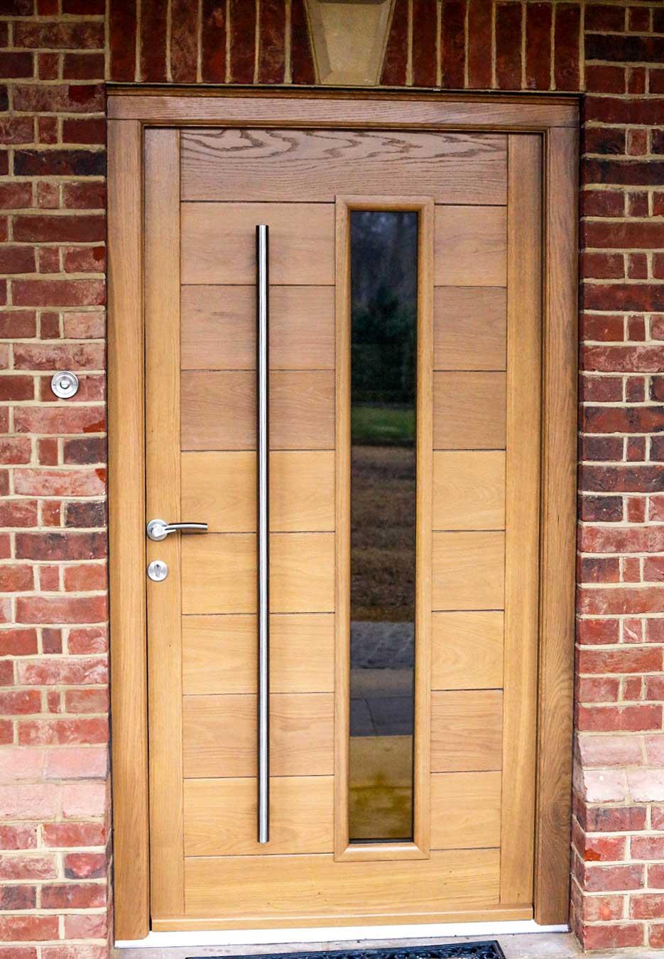 Solid Oak Entrance Doors
