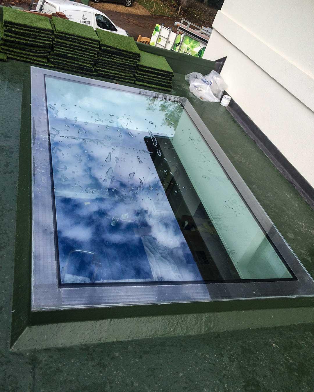 Slimsky Flat Rooflight from Grabex Windows