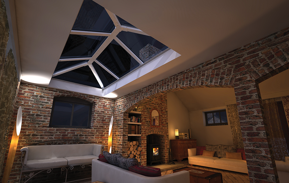 Skypod Glass Roof Lantern