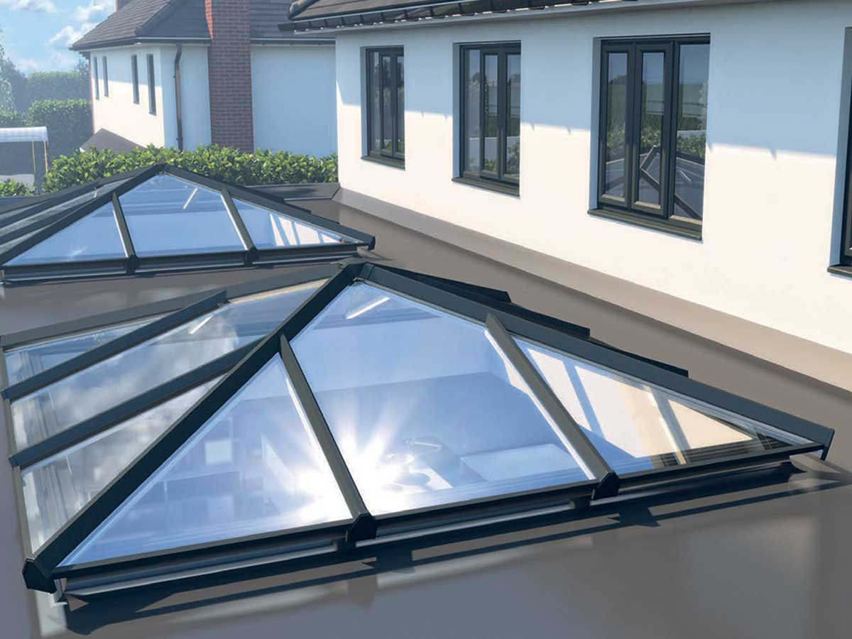 Skypod Glass Roof Lanterns