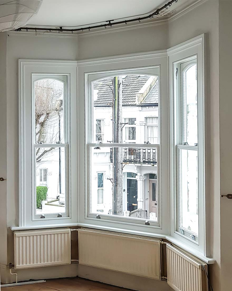 Timber Sash Bay Window