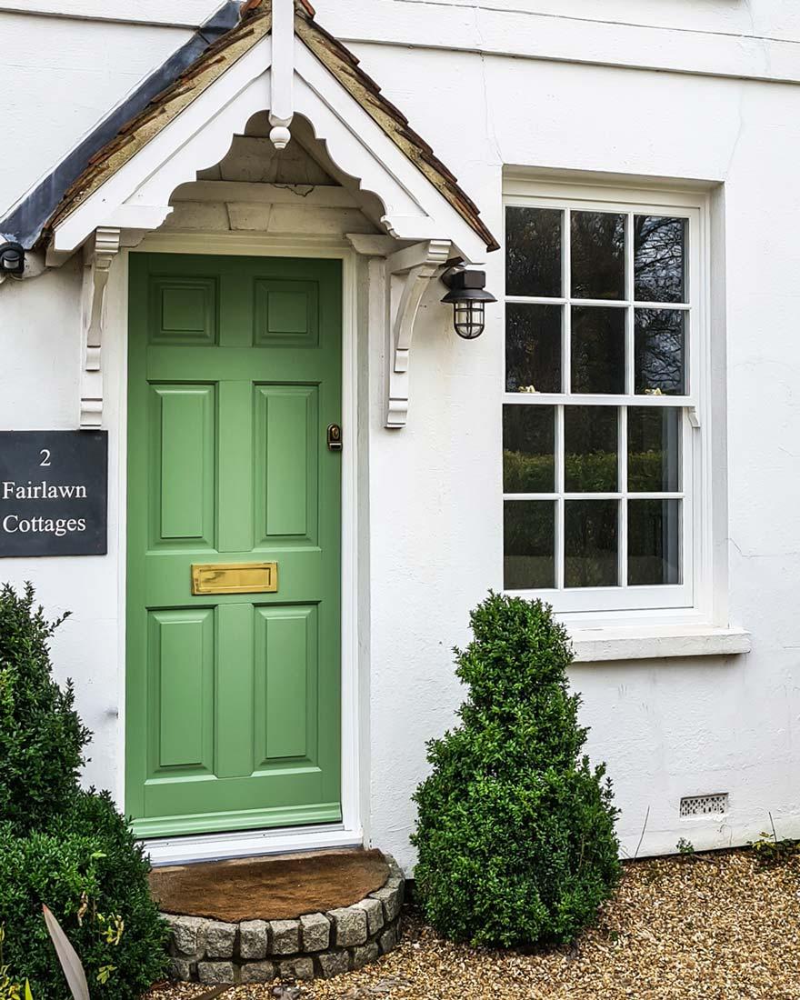 Timber Sash Window and Timber Entrance Doors