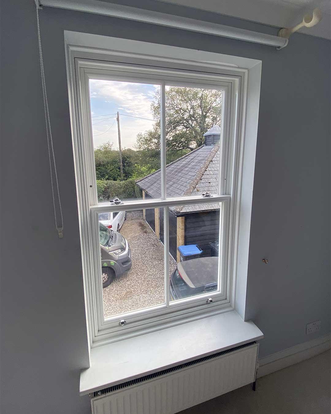 Timber Vertical Sliding Sash Window