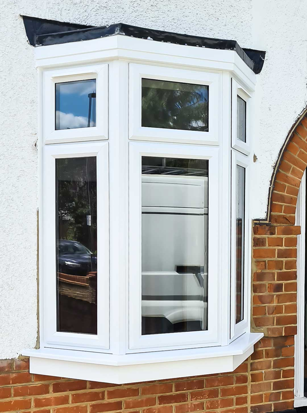 Upvc Bevel Casement Windows